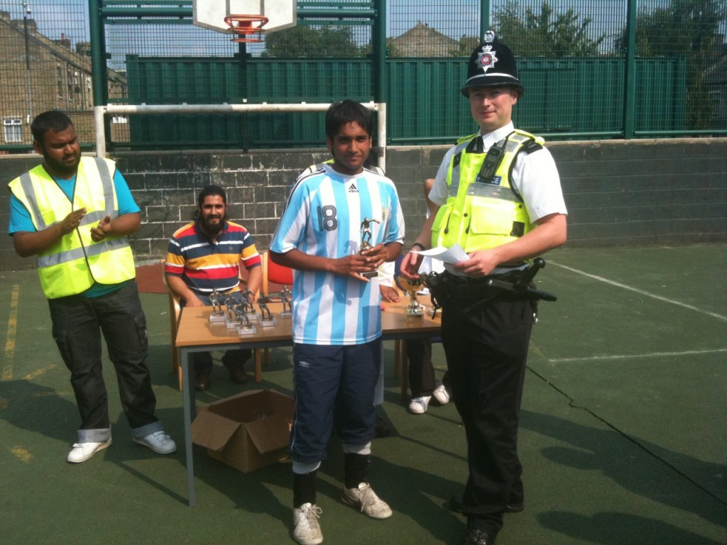 WY Police at Fooball Comp 2