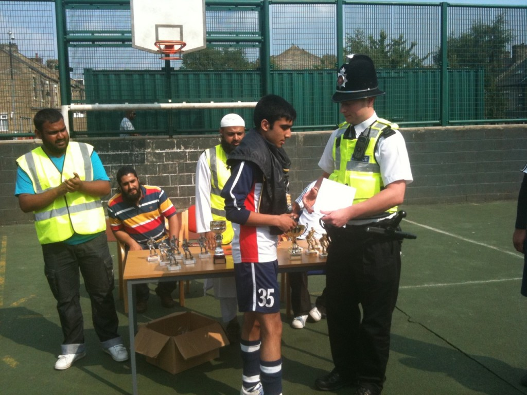 WY Police at Football Comp